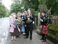 Photograph from Wreath Laying 2011