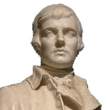 Robert Burns statue image
